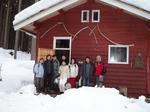 冬のポレポレ小屋へ