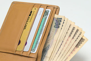 お財布いっぱい