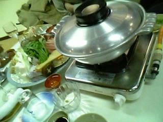 屋形船の鍋