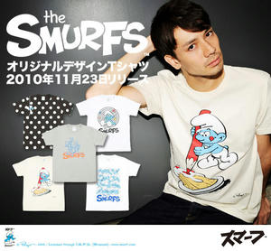 graniph × THE SMURFS
