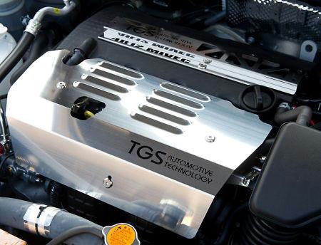 TGS製 イグニッションアースキットとエンジンブロックシールド