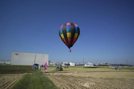 気球に乗ってみた