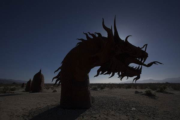 Borrego Springs, California by Harry Pherson