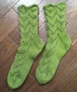 もとより12目10段のセグメントで構成されているので、とても合理的、論理的。靴下の編み方を考えた人はほんとうにすごいと思う。
