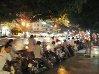 夜景……というかバイク