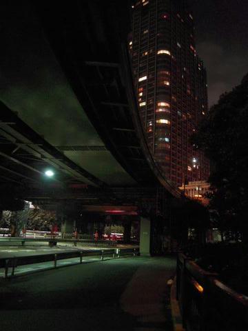 都市の交差 築地