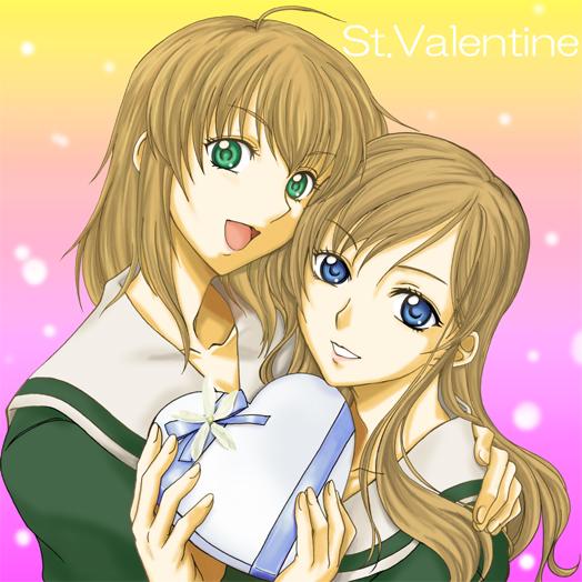 バレンタインな白薔薇姉妹