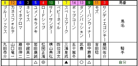 札幌二歳ステークス