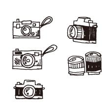カメラ フィルムのフリー素材 イラストレーター Ai イラストのフリー素材 イラストレーター Ai やさしさグラフィクス