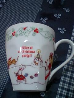 christmas Alice cup