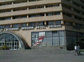 イェレヴァン滞在中はずっとこのホテルに宿泊していました