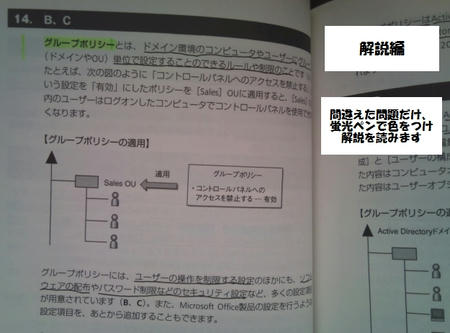 mca platform 黒本 問題集 解説1