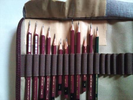 色鉛筆ホルダー 鉛筆デッサン用