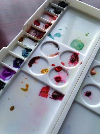 水彩パレット 水彩絵具