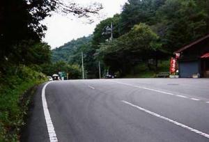 現在の暮坂峠