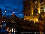 リストランテ・ディ・カナレットのテラスからの夜景(1)