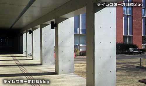 最終回の予告編で相良先生が後ろ姿で歩いていた外廊下のロケ地