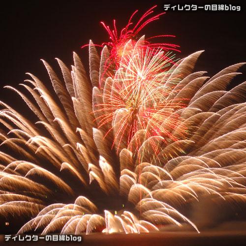 館山湾花火大会2015