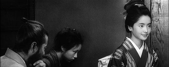 黒澤明監督の映画『赤ひげ』(1965年)で「まさえ」と言うお嬢様役