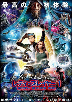 映画「レディ・プレイヤー1(2D・日本語字幕版)」 感想と採点 ※ネタバレなし