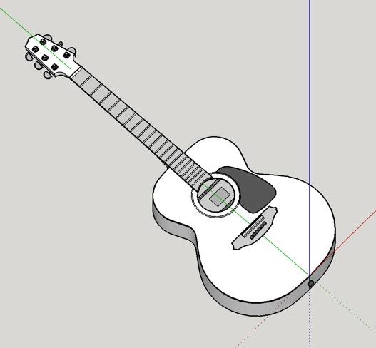 SketchUpを使ってみた。3Dモデリングツール