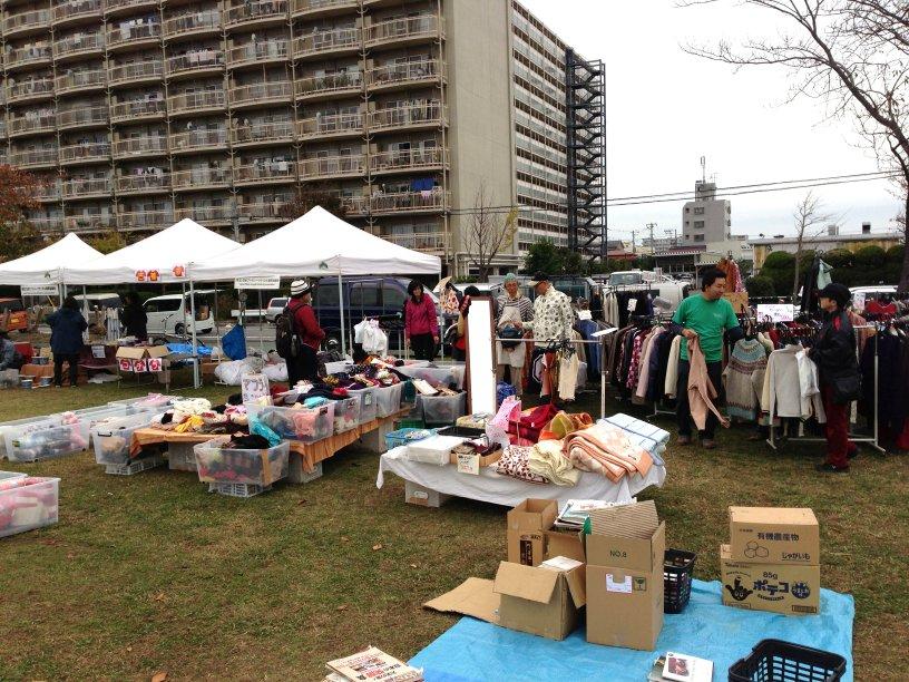 JFSA稲岸公園チャリティバザー