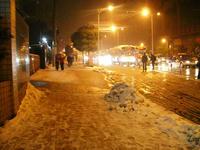 上海雪景色①