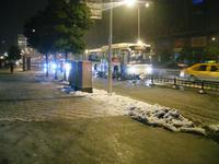 上海雪景色②
