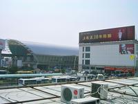 龍陽駅(リニアモーターカー、地下鉄)