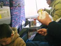 包子を食べる人