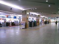 福岡空港国内線搭乗受付ロビー