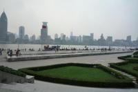 浦東側の公園