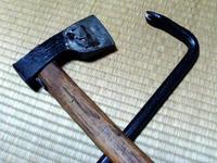 斧とバール