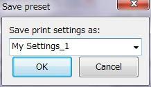 3Dプリンター,Slic3r,設定,方法,Repetier,使い方,Print settings,名前を付けて保存