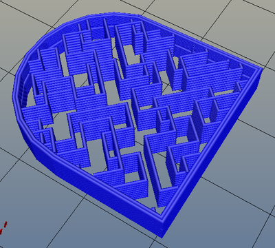 3Dプリンター,Slic3r,設定,方法,Repetier,使い方,Print settings,Infill,Fill Pattern,hilbertcuve