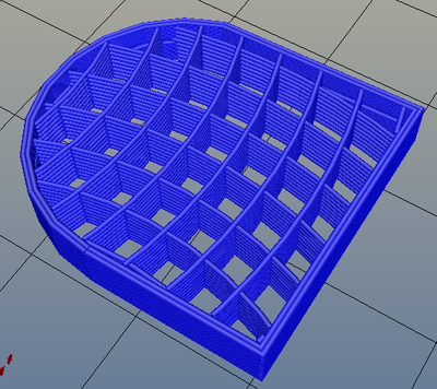 3Dプリンター,Slic3r,設定,方法,Repetier,使い方,Print settings,Infill,Fill Pattern,archimedeanchords