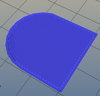 3Dプリンター,Slic3r,設定,方法,Repetier,使い方,Print settings,Infill,Top/bottom fill pattern,rectilinear