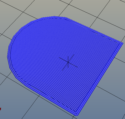 3Dプリンター,Slic3r,設定,方法,Repetier,使い方,Print settings,Infill,Top/bottom fill pattern,archimedeanchords