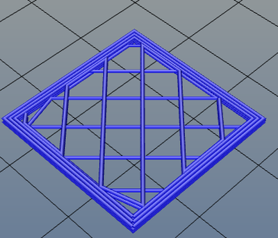 3Dプリンター,Slic3r,設定,方法,Repetier,使い方,Print settings,Infill,Advanced,Fill angle
