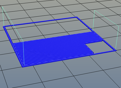 3Dプリンター,Slic3r,設定,方法,Repetier,使い方,Print settings,Infill,Advanced,Only retract when crossing perimeters,off