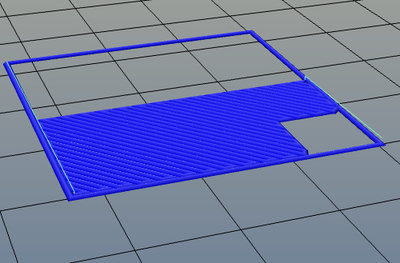 3Dプリンター,Slic3r,設定,方法,Repetier,使い方,Print settings,Infill,Advanced,Only retract when crossing perimeters,on