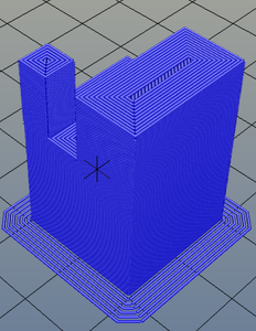 3Dプリンター,Slic3r,設定,方法,Repetier,使い方,Print settings,Skirt and brim_skirt,Brim