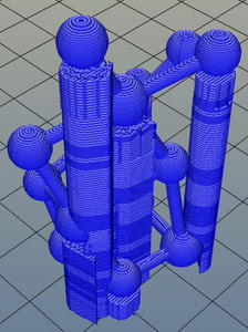 3Dプリンター,Slic3r,設定,方法,Repetier,使い方,Print settings,Support and material,サポート