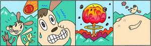 4コマ漫画 「救世主」