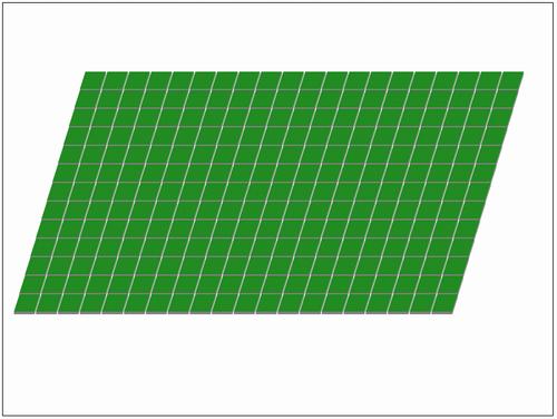 緑のフィールド