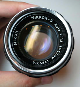 NIKKOR-S Auto 50mm F1.4 非Ai 撮影写真