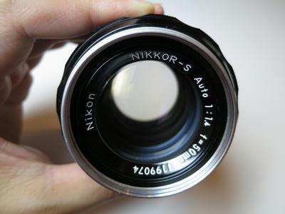 NIKKOR-S Auto 50mm F1.4 非Ai