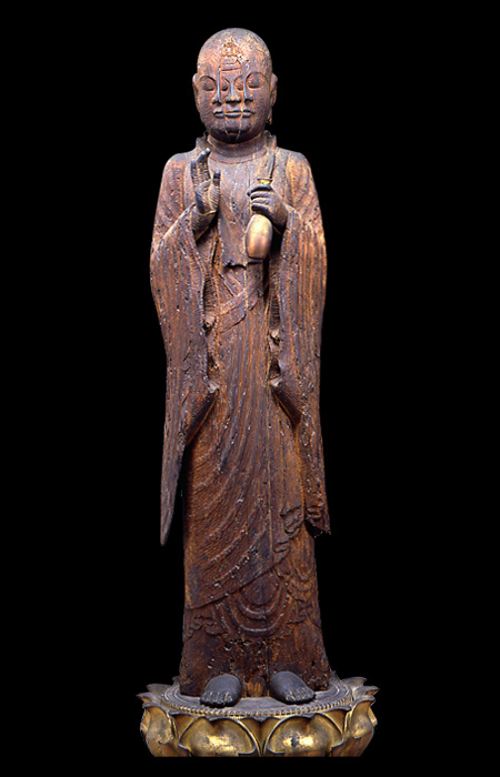 造型魂・造形魂 西往寺:宝誌和尚立像