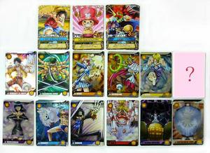 ワンピースウォンテッドスナックを全部で19個で14種類のウォンテッドカードをゲットすることができました!