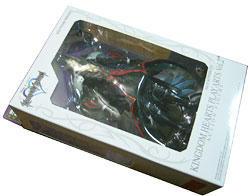 セフィロスのキングダムハーツアクションフィギュアのパッケージ